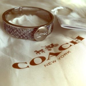 Authentic Coach Wild Beast Bangle